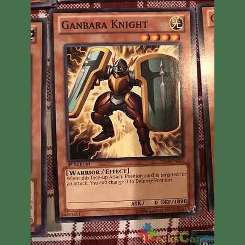 Ganbara Knight - ys13-en013 - Common 1st Edition