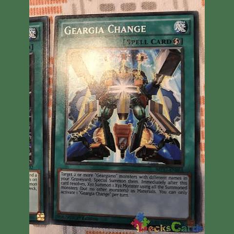 Geargia Change - mp17-en053 - Common 1st Edition
