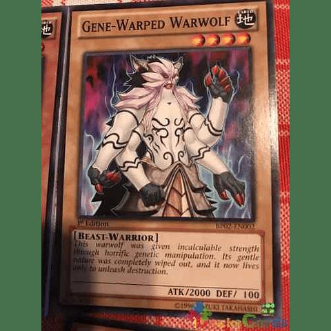 Gene-warped Warwolf -bp02-en002- Common 1st Edition