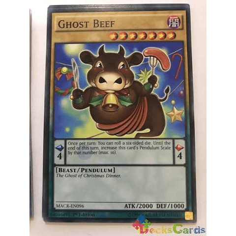 Ghost Beef -macr-en096- Common 1st Edition