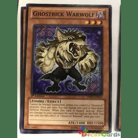 Ghostrick Warwolf -prio-en023- Common 1st Edition