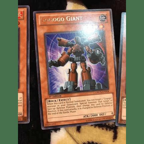 Gogogo Giant -orcs-en004- Rare 1st Edition