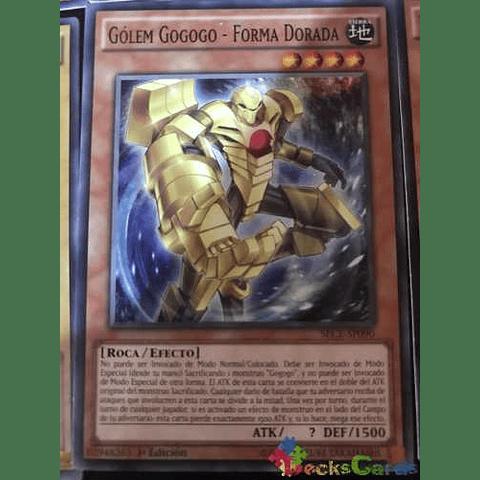 Gogogo Golem - Golden Form -sece-en090- Common 1st Edition