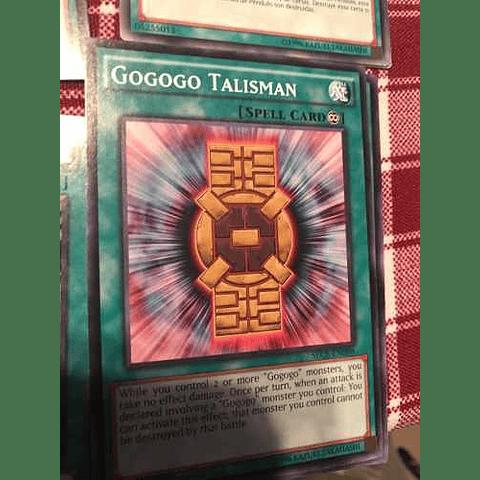Gogogo Talisman -sece-en098- Common 1st Edition
