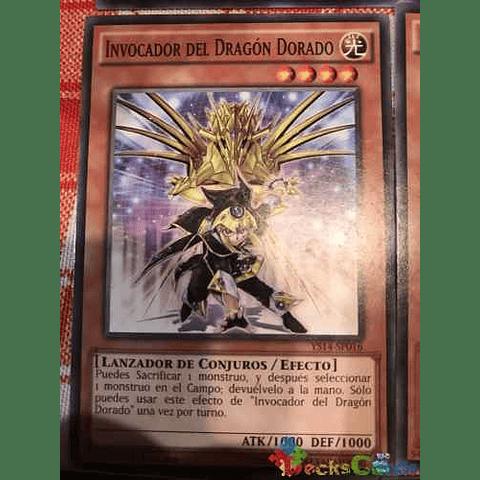 Golden Dragon Summoner - ys14-en016 - Common 1st Edition