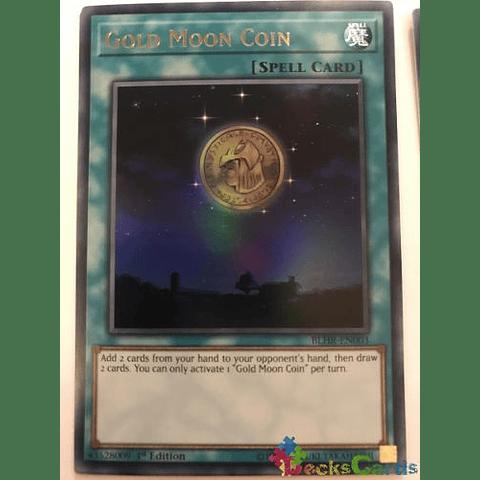 Gold Moon Coin -blhr-en003- Ultra Rare 1st Edition