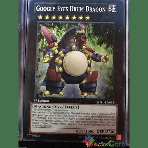 Googly-eyes Drum Dragon -jotl-en051- Common 1st Edition