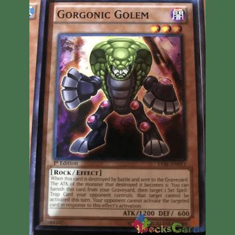 Gorgonic Golem -lval-en011- Common 1st Edition