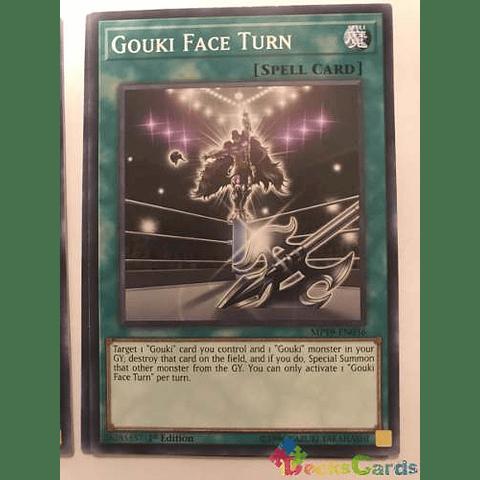 Gouki Face Turn -mp19-en036- Common 1st Edition
