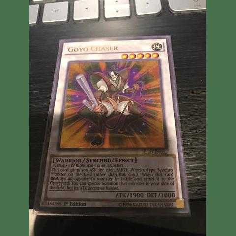 Goyo Chaser -hsrd-en038- Ultra Rare 1st Edition