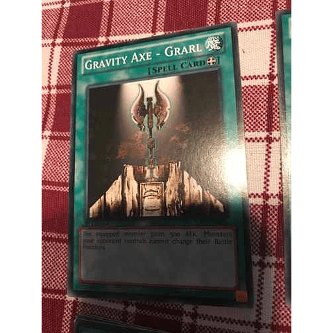 Gravity Axe - Grarl - ys12-en026 - Common 1st Edition