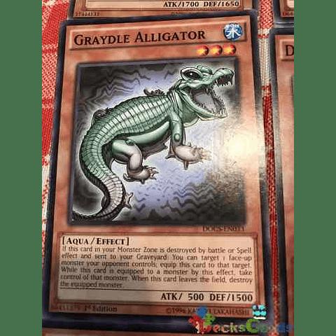 Graydle Alligator -docs-en033- Common 1st Edition