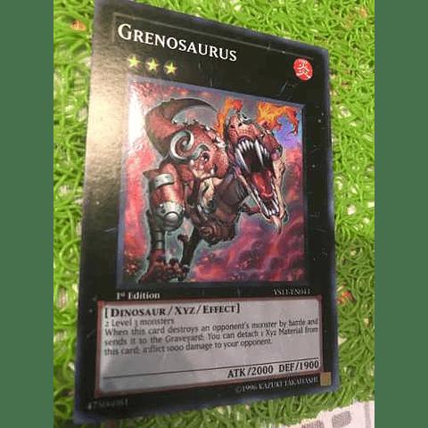 Grenosaurus - ys11-en043 - Super Rare 1st Edition