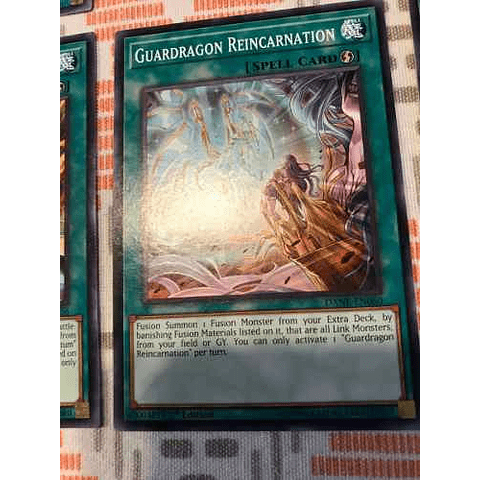Guardragon Reincarnation -dane-en060- Common 1st Edition