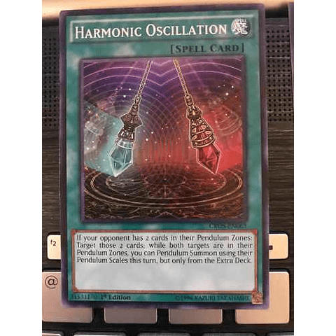 Harmonic Oscillation -cros-en063- Common 1st Edition