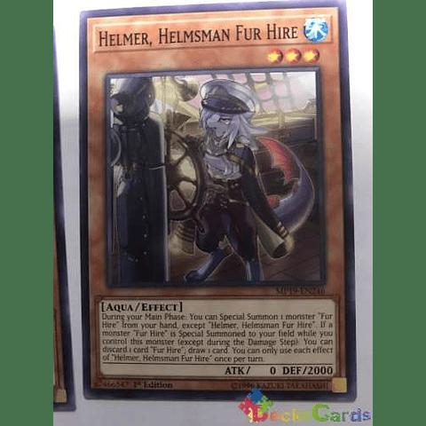 Helmer, Helmsman Fur Hire -mp19-en246- Common 1st Edition