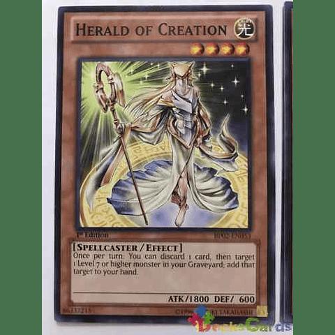 Herald Of Creation -bp02-en053- Common 1st Edition
