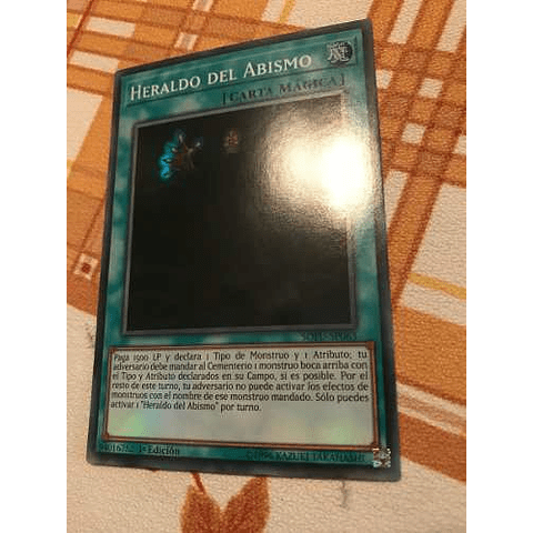 Herald Of The Abyss -sofu-en063- Super Rare 1st Edition