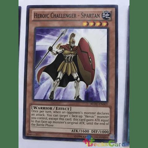 Heroic Challenger - Spartan -redu-en005- Common Unlimited