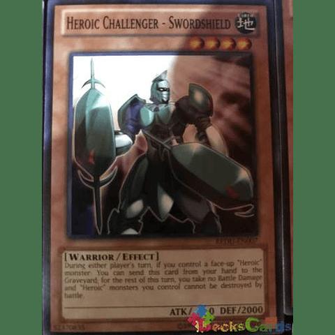 Heroic Challenger - Swordshield - REDU-EN007 - Common Unlimited