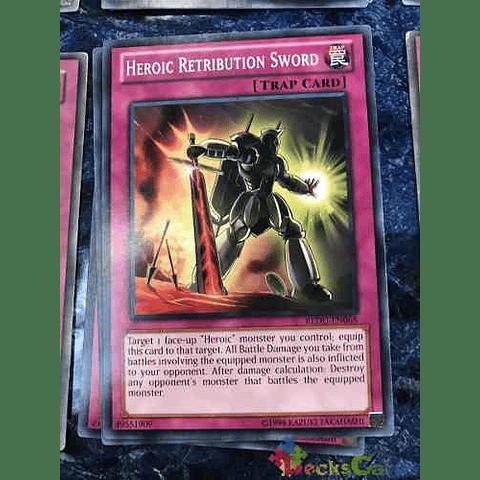 Heroic Retribution Sword -redu-en068- Common Unlimited