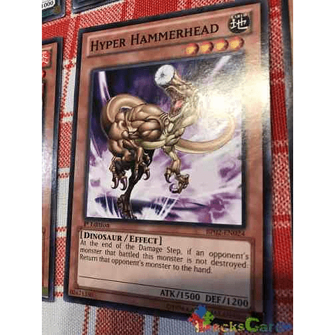 Hyper Hammerhead -bp02-en024- Common 1st Edition