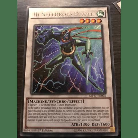 Hi-speedroid Puzzle -mp17-en026- Rare 1st Edition