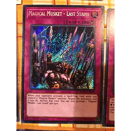 Magical Musket - Last Stand - spwa-en028 - Secret Rare 1st Edition