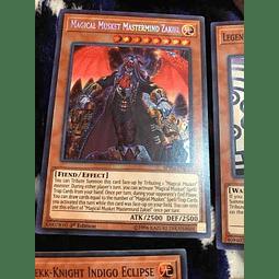 Magical Musket Mastermind Zakiel -spwa-en022- Secret Rare