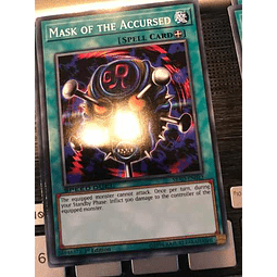 Mask Of The Accursed -sbad-en042- Common 1st Edition
