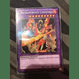 Metalfoes Crimsonite -tdil-en045- Rare 1st Edition