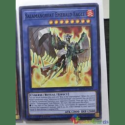 Salamangreat Emerald Eagle -mp19-en179- Common 1st Edition