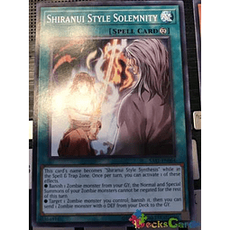 Shiranui Style Solemnity - sast-en064 - Common Unlimited