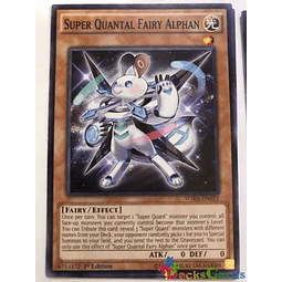 Super Quantal Fairy Alphan - wira-en033 - Common 1st Edition