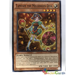 Tamtam The Melodious Diva - core-en009 - Common Unlimited