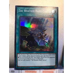The Weather Rainy Canvas - spwa-en037 - Super Rare 1st Editi