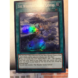 The Weather Snowy Canvas - spwa-en036 - Super Rare 1st Editi