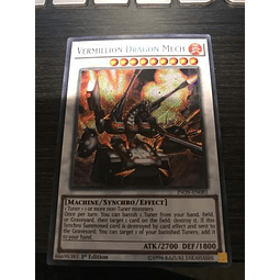 Vermillion Dragon Mech -inov-en081- Secret Rare 1st Editio