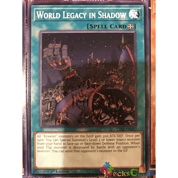 World Legacy In Shadow - cibr-en057 - Common 1st Edition