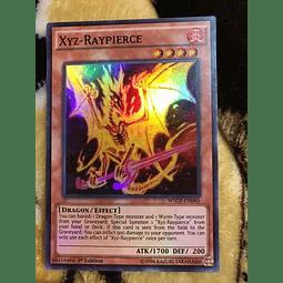 Xyz-raypierce -wsup-en046- Super Rare 1st Edition