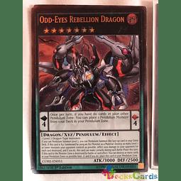 Odd-Eyes Rebellion Dragon - CORE-EN051 1st Edition - Ultimate Rare