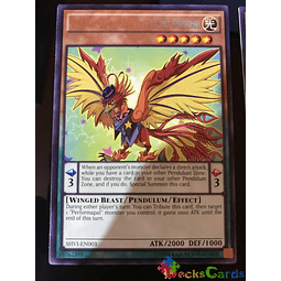 Performapal Odd-Eyes Light Phoenix - SHVI-EN003 - Rare Unlimited