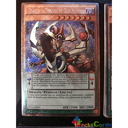 Odd-Eyes Pendulum Dragon - CT12-EN001 - Platinum Secret Rare Limited Edition