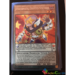 Performapal Odd-Eyes Synchron - BLLR-EN004 - Secret Rare 1st Edition