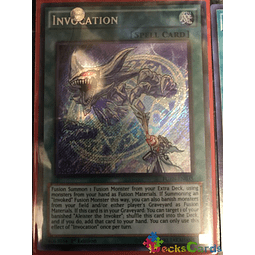 Invocation - FUEN-EN035 - Secret Rare 1st Edition