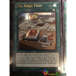 The Kaiju Files - BLRR-EN091 - Ultra Rare 1st Edition