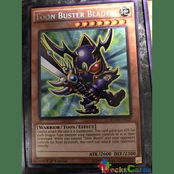Toon Buster Blader - BOSH-EN038 - Rare 1st Edition