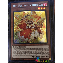 The Weather Painter Sun - SPWA-EN032 - Secret Rare 1st Edition