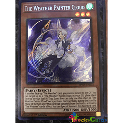 The Weather Painter Cloud - SPWA-EN031 - Secret Rare 1st Edition