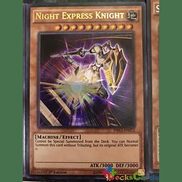 Night Express Knight - DRL3-EN072 - Ultra Rare 1st Edition